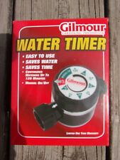 GILMOUR Watering WATER TIMER Hose Attachment SPRINKLER Lawn Care NEW IN BOX