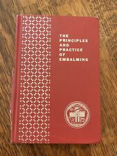 The Principles And Practice Of Embalming 1967 Funeral Service Supplies Book Lot