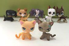 7 PCS LPS Toys Great Dane Collie Dog Short Hair Cat 339#483#672#577#817#325#2452