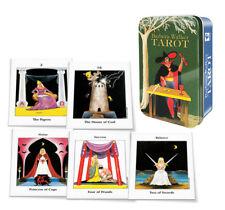 Barbara Walker Tarot in a Tin Pocket Size Tarot Cards Deck by Barbara G. Walker