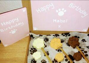 Dog chocolate treat box Personalised 🐾 Birthday Christmas
