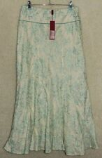 Monsoon Floral Regular Size Linen Skirts for Women