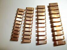"Beryllium-copper Finger Stock, ideal screw driver antenna, 1.250"", price for 4"