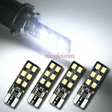 4x Xenon White Error Free T10 2825 W5W Car LED Bulbs Parking City Light Lamp #A