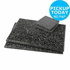 Argos Home Set of 4 Granite Placemats and Coasters