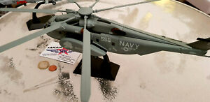 1x Sikorsky MH 53 CH - 53 Sea Stallion  NAVY USAF HELICOPTER NATO 1:72 Diecast