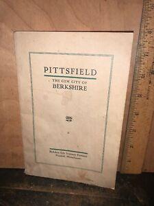 Pittsfield, The Gem City Of Berkshire Massachusetts 1905 Booklet.