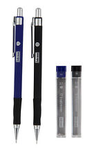 IDENA Druckbleistift Bleistift Set Feinminenstift 0,5mm & 0,7mm HB 510338 Neu