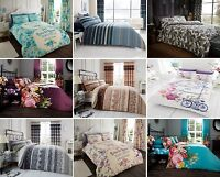 Luxurious Bedding Reversible Duvet Quilt Cover Set G.C Gift | All Size Available