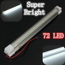 Car Interior 72 LED Light Strip Lamp Bar W/SWITCH Auto Caravan Motorhome RV BOAT