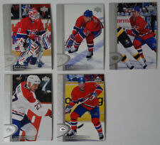 1996-97 Upper Deck UD Series 2 Montreal Canadiens Team Set of 5 Hockey Cards
