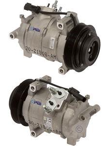 AC Compressor Fits: 2007 - 2010  Dodge Charger - Chrysler 300 / V6 3.5L ONLY