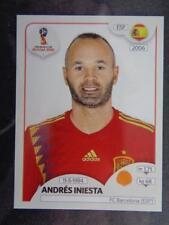 Panini World Cup 2018 Russia - Andrés Iniesta Spain No. 146
