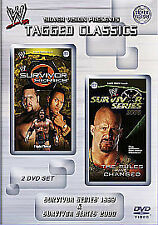 WWE Tagged Classics: Survivor Series 1999/2000 Dvd Brand New & Factory Sealed