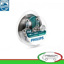 Lampade alogene PHILIPS X-TREME VISION H4 60/55W LUCE BIANCA TOP QUALITY