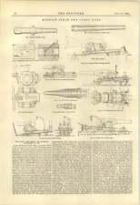 1888 CAMPO RUSSO costiere PISTOLE semenov CARROZZA OBICE
