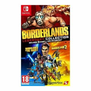 Borderlands: Legendary Collection [Code In A Box] (Switch)  BRAND NEW AND SEALED