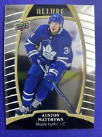 2019-20 Upper Deck Allure #5 Auston Matthews Toronto Maple Leafs