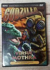 Godzilla vs Mothra Versus 1964| (Dvd, 1998)|Wide + Full Screen|Science Fiction