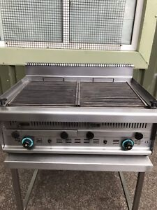 Sergas Gas lava stone grill GR2 Commercial Catering