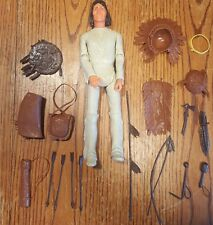 Marx Geronimo Indian Warrior Action Figure with Accessories