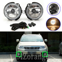Right Left Front Fog Light Lamp Wire Harness Kits For Subaru Forester 2008-2013