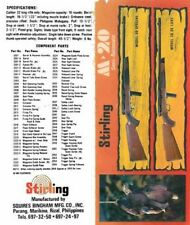 Stirling Squires Bingham Mfg. c1970 Company Model M20 Rifle Manual
