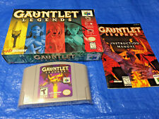 Authentic Nintendo 64 Gauntlet Legends Complete Game in Box N64