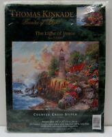 "Thomas Kinkade Light of Peace Counted Cross Stich 14""x11"" Candamar Design 51009"