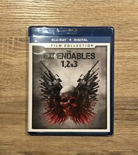 The Expendables: 3-Film Collection (Blu-ray Disc + Digital Code) BRAND NEW