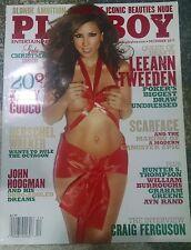 Playboy December 2011 Adult Magazine Leeann Tweeden