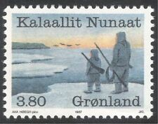 Greenland 1987 Fishing/Whaling/Industry/People/Food/Commerce 1v (n43673)