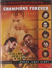 CHAMPIONS FOREVER, The Latin Legends. Duran,Chavez,Arguello,Ortiz, Gavilan NEW