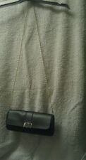 Small Straw/Faux Leather Evening Bag by Atmosphere. Excellent condition.