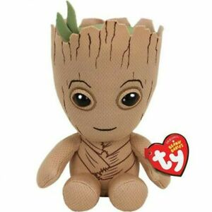 Ty Beanie Babies 41215 Marvel Groot the Brown Regular