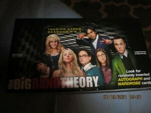 Big Bang Theory Trading Cards - Season 6 & 7 - Open Box - Only Autographed Gone