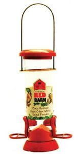 Red Barn, Wild Bird Feeder, Seed Feeder, Metal Bird Feeder