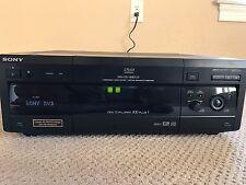 Sony DVP-CX860 DVD/CD/Video CD Player 300 Plus 1 Disc