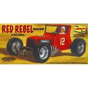 Lindberg 618 1/24 Red Rebel Racer Brand New