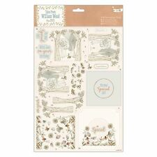 Papermania A4 Decoupage Foresta Di Pack Cornice Willson Legno per carte/