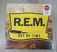 """REM - Out Of Time 12"""" LP Exclusive Lemonade Yellow Vinyl - New, Free Shipping"""