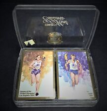 1984 Olympic Double Deck Cards United States Playing Card Co New Plastic Holder