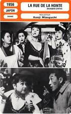 FICHE CINEMA : LA RUE DE LA HONTE - Kenji Mizoguchi 1956 Street of Shame