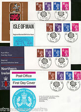 1971 Regionals - 4 Regional Covers - All with the National Postal Museum H/S