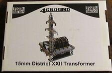 4Ground 15S-JIW-101 15mm Sci-Fi Jesserai District XXII Transformer Terrain NIB