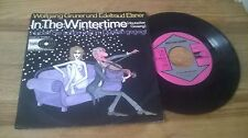 """7"""" Comedy Wolfgang Gruner/E. Elsner - in the winter time (2 Song) TEC REC"""