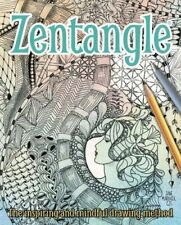 Zentangle by Jane Marbaix Book The Cheap Fast Free Post