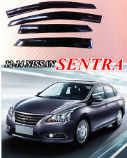 For Nissan Sentra 2013-2015 Mugen Style Window Visor Rain Sun Guard Vent New