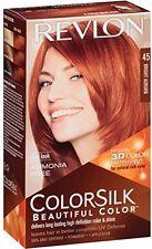Revlon ColorSilk Beautiful Permanent Hair Color (45) Bright Auburn