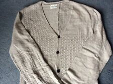 ALL SAINTS Men Fine Knit *MIKKELI* Cardigan Jacket Alpaca Cotton, VGC,S,RRP £165